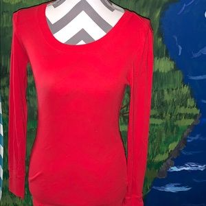 Gap brand size small red long sleeve top